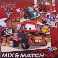 Disney Pixar Cars Mix N Match 24 Pc