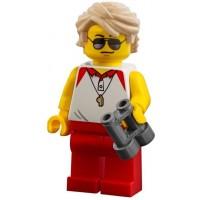 Lego City Minifigure Beach Lifeguard W Lifeguard Tower