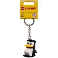 Lego Penguin Keychain