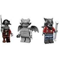 Lego Werewolf Zombie Pirate Captain Gargoyle Collectible Minifigures Series 14 Monsters Zombies