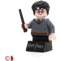 Lego 2018 Harry Potter Minifigure With Wand Stand