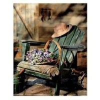 Springbok Garden Chair 1000 Piece Jigsaw
