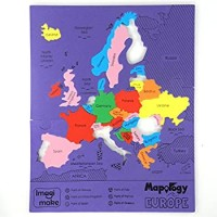 Imagimake Mapology Europe Map