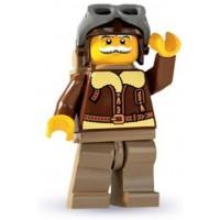 Lego Minifigures Series 3 Old Timer Pilot