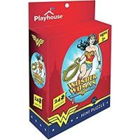 Playhouse Dc Comics Wonder Woman 24Piece Diecut Shaped Mini