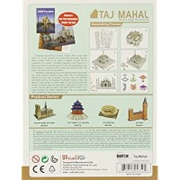 Taj Mahal 3D Puzzle With Book