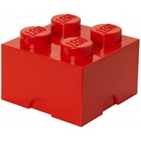 Lego Storage Brick Multi Pack 4 Piece Bright Redbright Bluebright