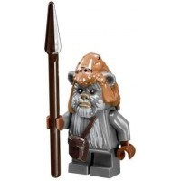Lego Star Wars Ewok Teebo Minifigure With Spear From Ewok Village