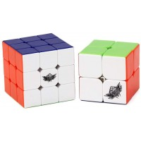 Vdealen Speed Cube Set Includes 2X2 3X3 Stickerless Magic Cube