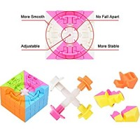 5X5 Cube Stickerless New Structure 5X5 Cube No Fall Apart More Smoothly Than Original 5X5