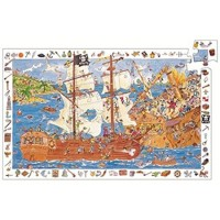 Pirates Discovery Puzzle By Djeco 100 Pc