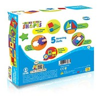 Imagimake Make With Shapes Activity Kit And Puzzle 2 Years To Learn Shapes Sizes And Fine Motor
