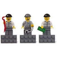 Lego City Burglars Magnet Set