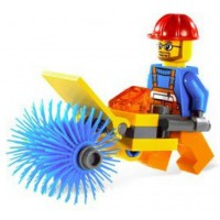 Lego City Set 5620 Mini Figure Street