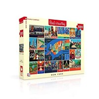 New York Puzzle Company Paul Thurlby New York Collage 500 Piece Jigsaw