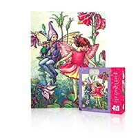 New York Puzzle Company Flower Fairies Columbine Fairy Mini 20 Piece Jigsaw