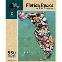 Florida Rocks Low Tide Treasures 550 Piece Jigsaw