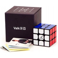 Cuberspeed Qiyi Valk 3 M 3X3 Black Speed Cube Qiyi Mofangge The Valk 3 Magnetic 3X3X3