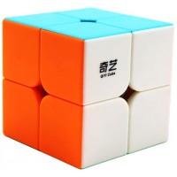 Moruska Qiyi 2X2 Speed Cube Stickerless 2X2X2 Cube Puzzle Toy Adults Qiyi Qidi S