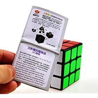 Cuberspeed Moyu Mofang Jiaoshi 3X3 Black Magic Cube Cubing Classroom Mf3 Black 3X3X3 Guanlong Plus