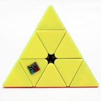 Liangcuber Moyu Mofang Jiaoshi Meilong Pyramid Stickerless Magic Cube Cubing Classroom Meilong 3X3