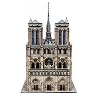 Umbum Innovative 3D Puzzle Notre Dame De Paris Cathedral France Clever Paper