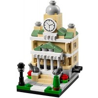 Lego Exclusive 2014 Bricktober Set Of Four Theater 40180 Pizza Place 40181 Fire Station 40182 Town