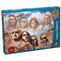 Master Pieces Founding Fathers Jigsaw Puzzle