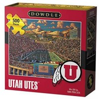 Dowdle Folk Art Utah Utes Jigsaw