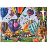 Serendipity Puzzle Company Full Of Hot Air 1000 Piece Jigsaw