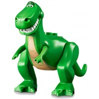 Lego Toy Story 4 Minifigure Rex Dinosaur Animal With Tan Belly