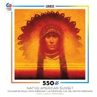 Ceaco Native American Sunset New Leader Puzzle 550