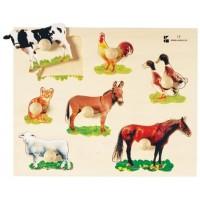 Farm Animals Photo Knob