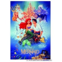 The Little Mermaid 300 Piece Movie Poster Puzzle 2 X 3 Feet