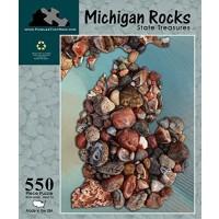 Michigan Rocks State Treasures 550 Piece