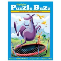 Highlights Puzzle Buzz Set Of 4 Books For Ages 5 To