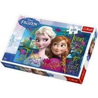 Trefl Disney Frozen Anna And Elsa Puzzle 100