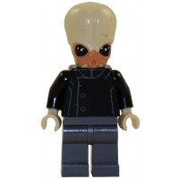 Lego Star Wars Minifigure Bith Musician From Mos Eisley Cantina Band
