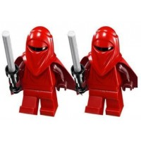 Lego Imperial Royal Guard Set Of 2 From 75034 Star Wars