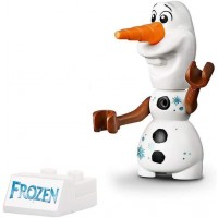 Lego Disney Princess Frozen 2 Minifigure Olaf With Snowflakes All New For