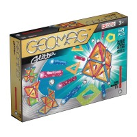Geomag Kids Panels Glitter 68 pcs Magnetic Building Set