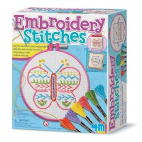 Embroidery Stitches Craft Kit