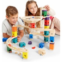 Whirlpool Quadrilla 106 pc Wooden Marble Run