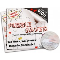 Jigsaw Puzzle Glue Mat Sticks Saver 1000 Pieces Peel Stick With Strong Adhensive Paper Roll Up