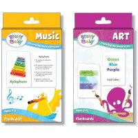 Brainy Baby Teach Your Child Music And Art Flashcards Deluxe Edition Set Of