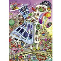Heye Ginger And Fredcrisp Triangular Puzzles 1000Piece