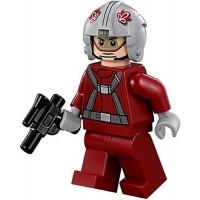 Lego Star Wars Minifigure T16 Skyhopper Pilot Red With Blaster Gun