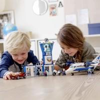 Lego City Sky Police Air Base 60210 Building Kit 529