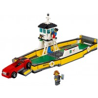Lego City Great Vehicles Ferry 60119 Building