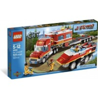 Lego City Fire Transporter